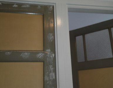 Klussen met gebruikte deuren