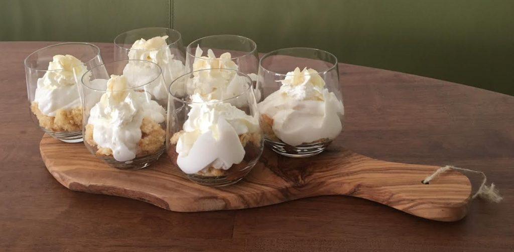 Mini-trifle met appel