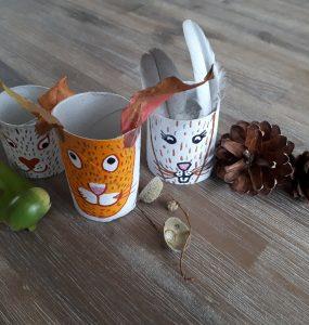 Zo maak je eenvoudig vrolijke herfst diertjes