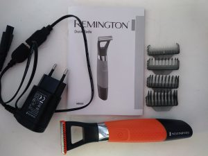Scheren met Remington durablade