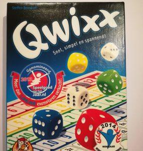 QWIXX- een simpel dobbelspel