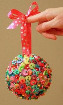 Zelf thuis kerstballen maken