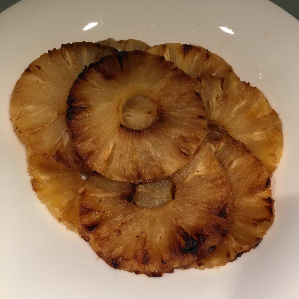 ananas uit de airfryer