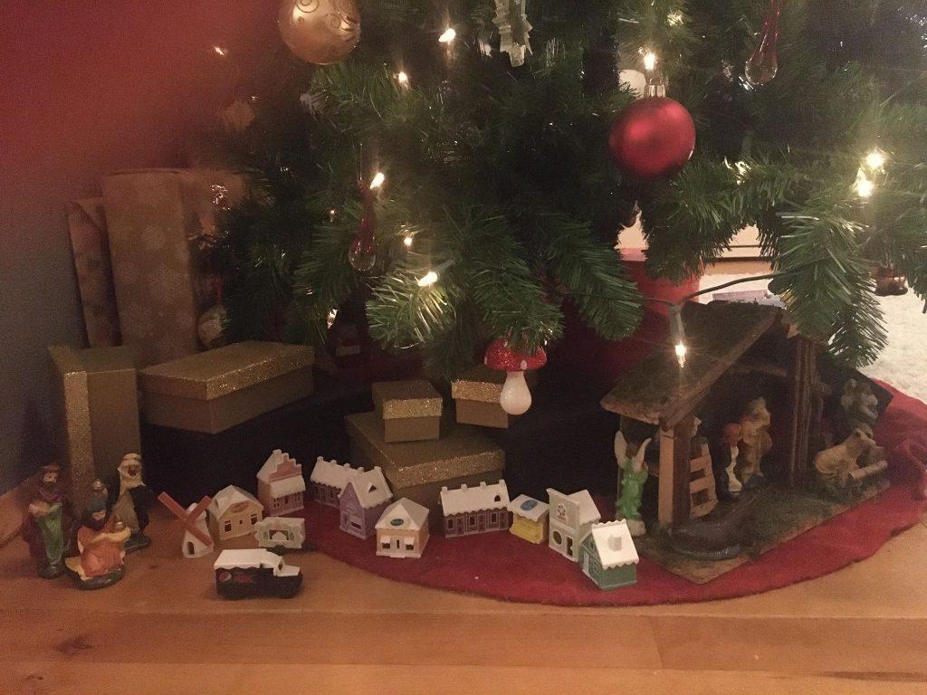 Winterdorp inspiratie onder de kerstboom