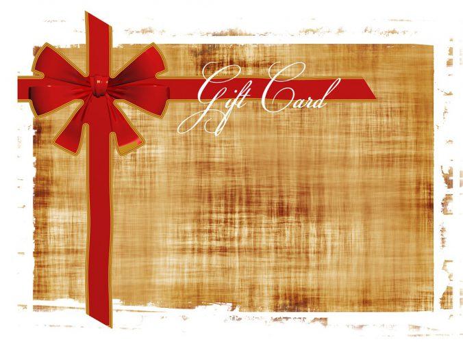 cadeaubon volledig benutten
