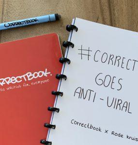 Correctbook Rode kruis