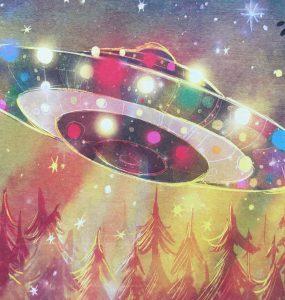 Lichtjes uit de ruimte