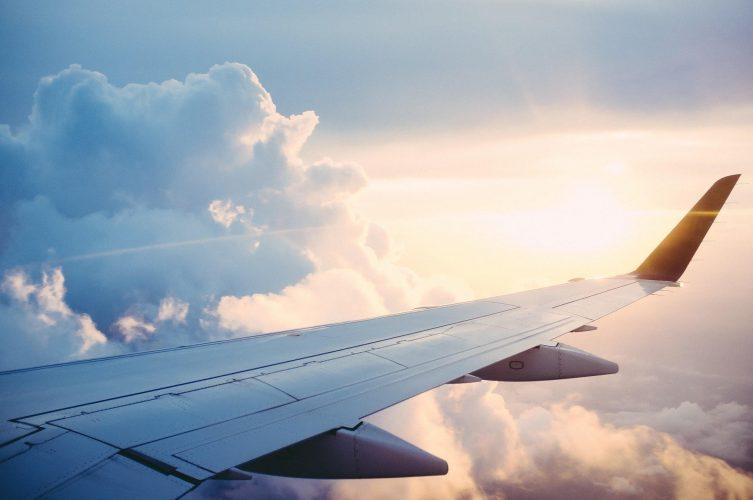 vakantie met vliegtuig