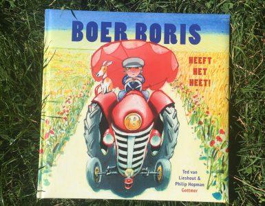 Boer Boris heeft het heet!