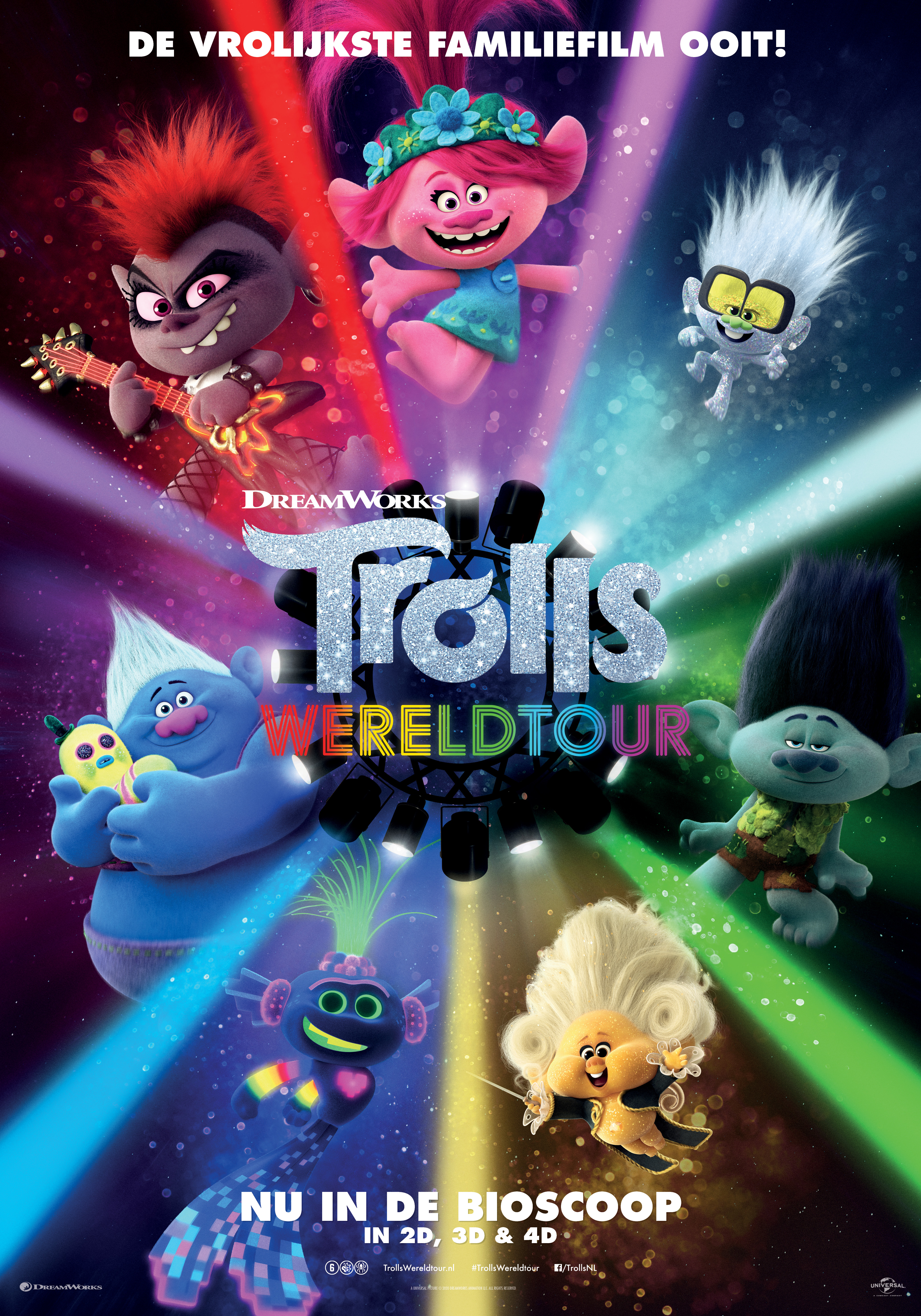 trolls wereldtour