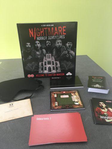 Nightmare horror adventuresspel