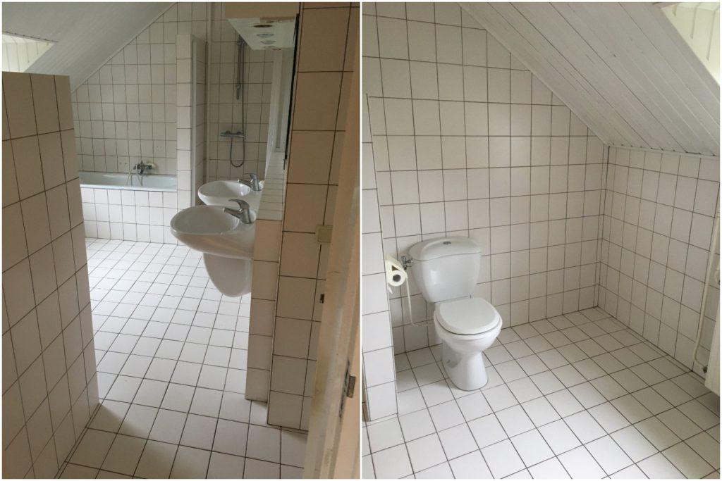 Geen perfecte badkamer