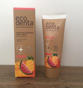 Ecodenta Juicy Fruit Kids tandpasta is speciaal ontwikkeld voor kinderen