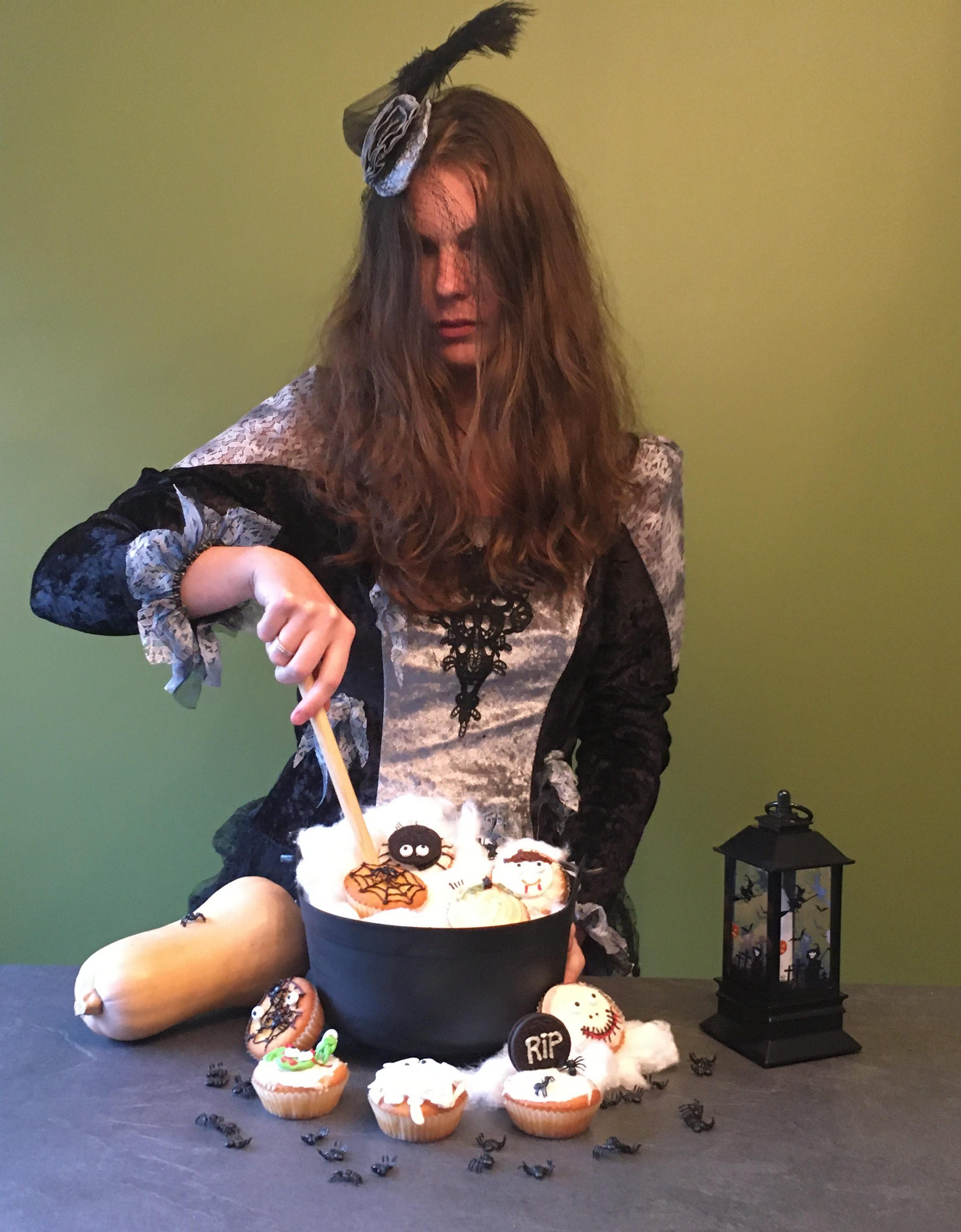 Halloween party kan beginnen