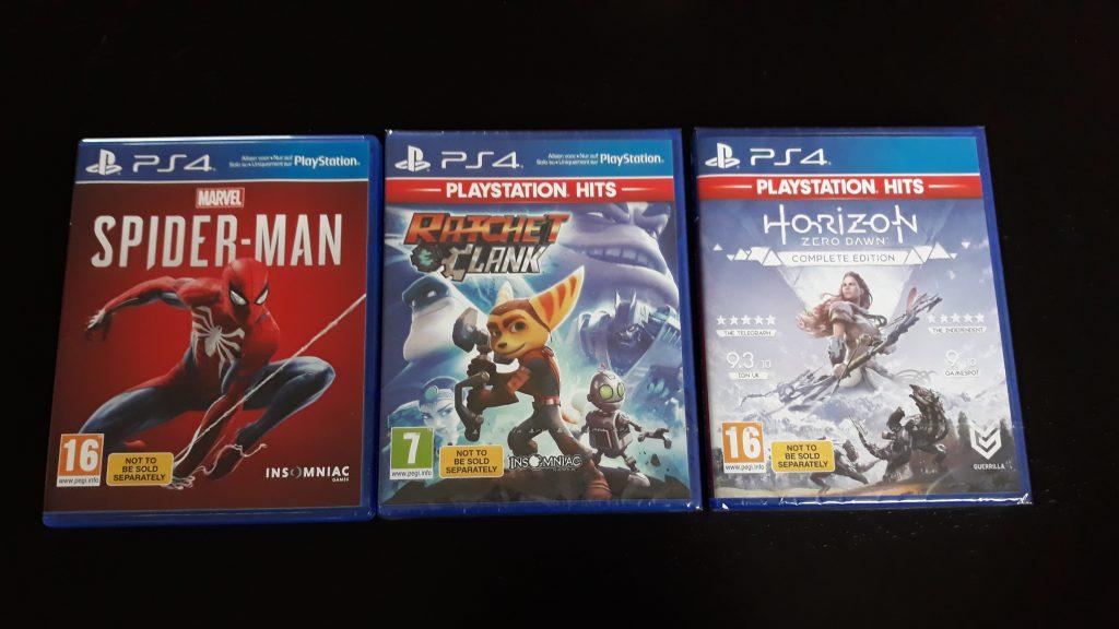 PlayStation 4 Game Hits