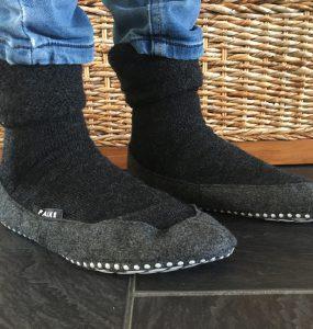 Falke cosyshoe pantoffels maar dan anders