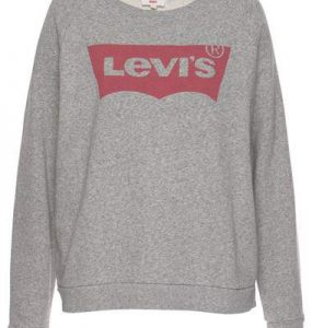Levi's sweatvest grijs rood