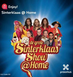De Grote Sinterklaas show @Home