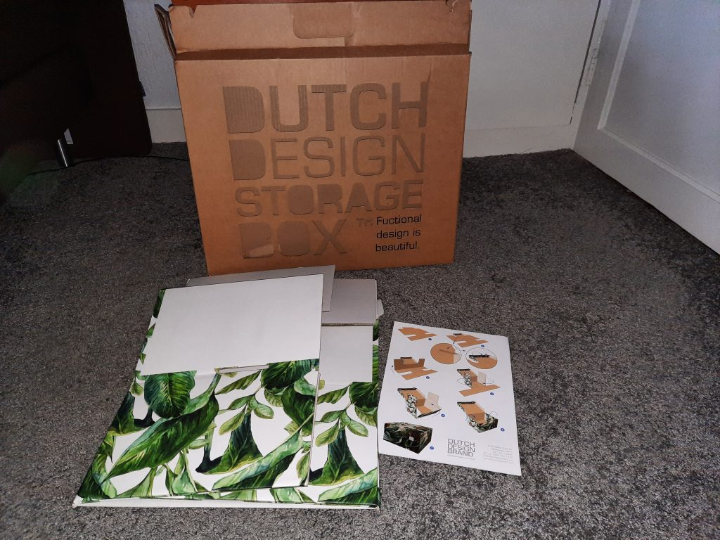 Dutch Design Storage Box