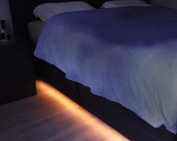 Verlichting onder je bed