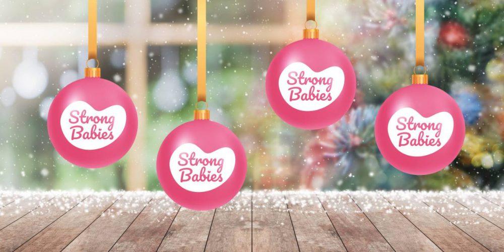 Strong Babies Kerst