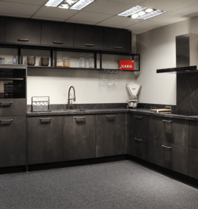Keukentrends zwarte keuken
