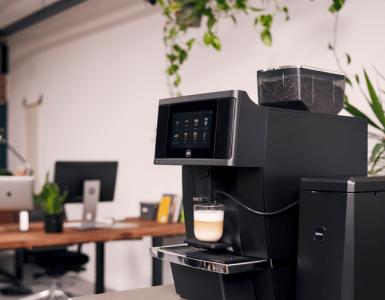 Gio Koffie op kantoor
