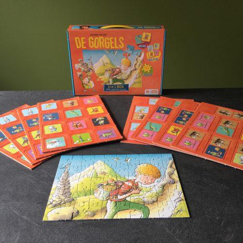 De Gorgels 3 in 1 box
