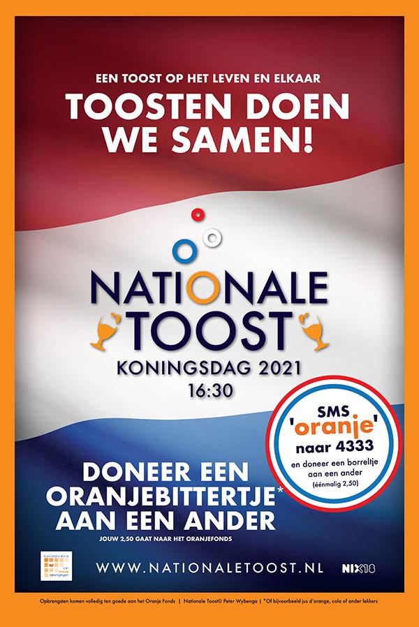 Koningsdag 2021 Nationale toost
