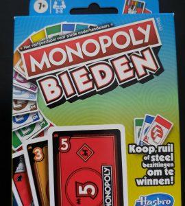 Kaartspel Monopoly BIEDEN