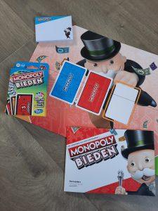 Monopoly BIEDEN kaartspel