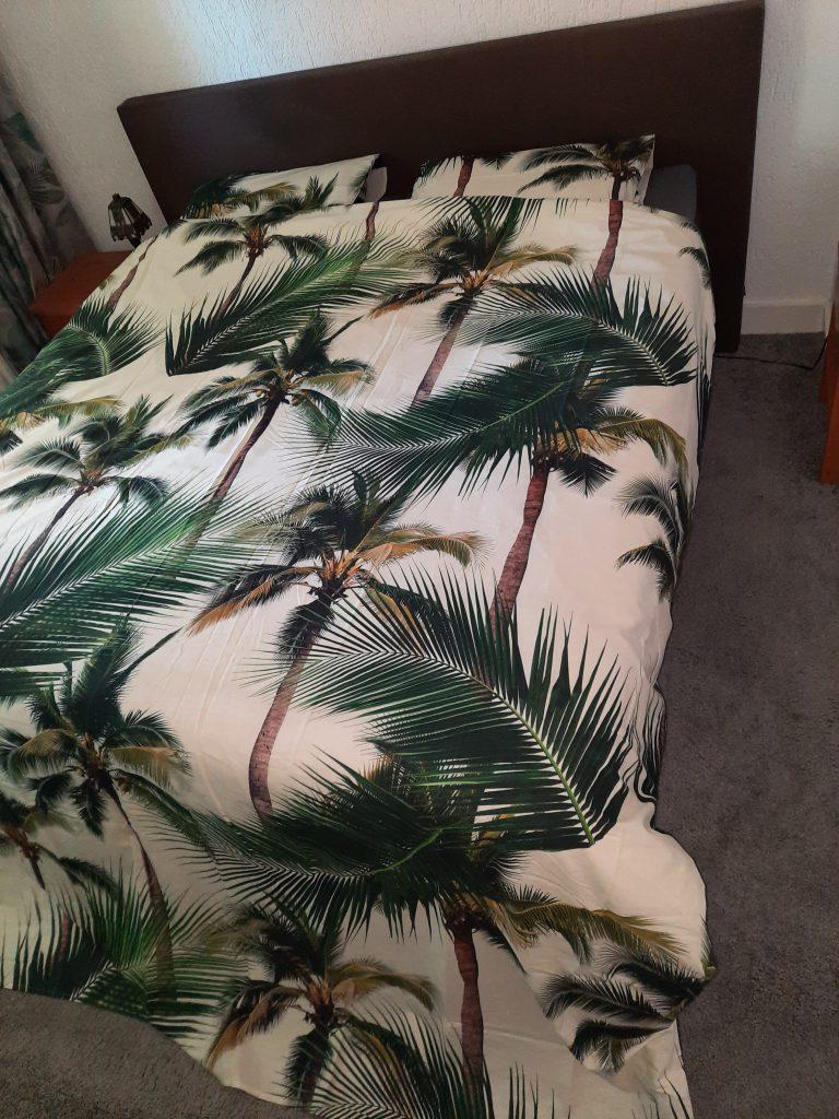 SNURK Palm overtrek met lange instopstrook