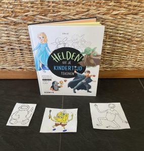 Helden uit je kindertijd tekenen