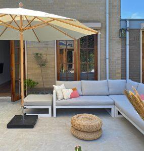 Kees Smit Tuinmeubelen parasol voor schaduw